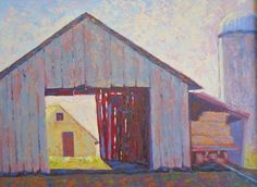 New Jersey Barn by Nancy Stark