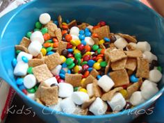 Smores Trail Mix - Camping Party
