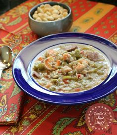 and Sausage Gumbo - try this recipe for super bowl Sunday! #gumbo ...