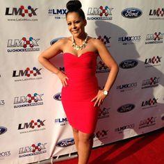The beautiful Cristy Lugo wearing Love, Nidia E.  http://www.nidiae.com
