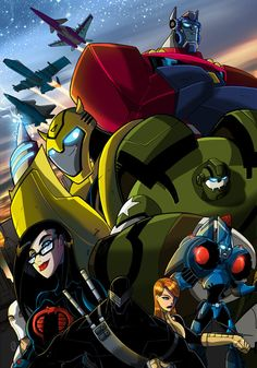 gi joe vs transformers animated