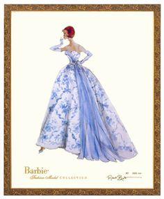 Provencale Limited Edition Barbie Print