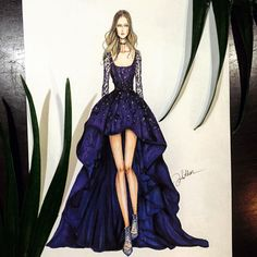 #zuhairmurad #fashion #illustrator #illustration #art