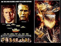 the towering inferno poster - Google Search