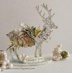 Oh deer! Świąteczny renifer :)
