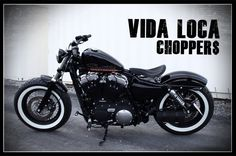 Sportster Harley Forty Height Designed by Vida Loca Choppers in 2013