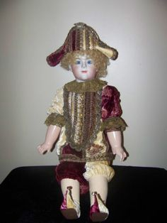 Antique French Reproduction Bisque Doll F G Franciois Gaultier by Mary Lambeth | eBay