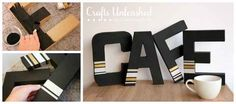 Washi Tape Cafe | 12 DIY Signs That Just Say It All