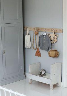 Grey-Blue Kids Room Inspiration – Home Dekor Blue Bedroom, Kids Bedroom, Grey Blue Nursery, Blue Gray Paint, Blue Grey, Diy Wall Shelves, Kids Room Design, Kid Spaces, Room Colors