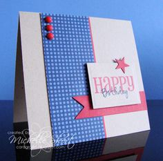 Simple Male Happy Birthday by Michelle Short
