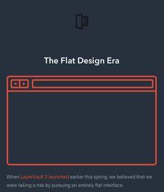 The Flat Design Era- Great Read
