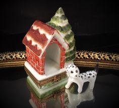 Dog House Limoges Box Limoges Trinket Box by LuxuryCityAntiques