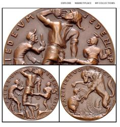 Karl Goetz Bronze Medal from Jeremy Bostwick at kollectbox Sign up at http://app.kollectbox.com/users/register  #medals   #antiquities   #collectors   #collectibles   #hobby   #marketplace   #ecommerce   #startup   #tech   #buy   #sell