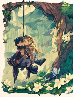 Made in Abyss || Riko, Reg