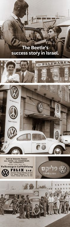 """Das Auto. Magazine tells the story of the automotive pioneer Felix Burian. Find out how Burian not only became one of the first Volkswagen dealers in Tel Aviv, but also helped to popularise Volkswagen in Israel around 50 years ago, despite the difficult relation that many Israelis had with products """"made in Germany""""."""