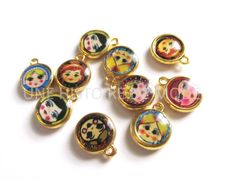 Breloques poupées russes Measuring Spoons, Jewellery, Boutique, Diy, Matryoshka Doll, Normandie, Creative Crafts, Handkerchief Dress, Beads