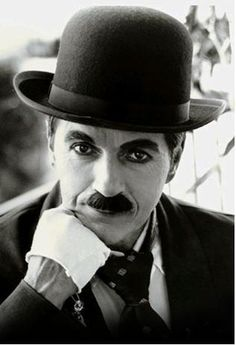 Charlie Chapman was a silent film actor, his work was mainly comical.  Charlie was the beginning of comedy.