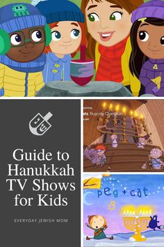A guide to all the streamable episodes of Hanukkah TV shows for kids. Includes a full description of each episode. #hanukkah #christmasmovie Jewish Festival Of Lights, Jewish Festivals, Festival Lights, Hanukkah Crafts, Hanukkah Decorations, Hannukah, What Is Hanukkah, How To Celebrate Hanukkah, Pbs Kids