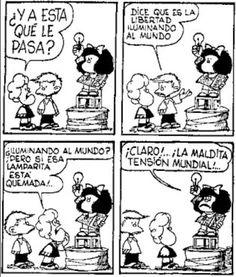 Mafalda Mafalda Quotes, Conversation Topics, Humor Grafico, Barbara Palvin, Hogwarts, Quotations, Geek Stuff, Comics, Memes