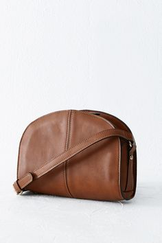 All | Brown Crescent Crossbody | Warehouse