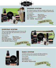 Mineral makeup line! Order here www.myjestore.com/Deonnamcm