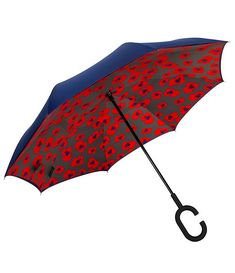 Double Layer Inverted Inverted Umbrella Is Light And Sturdy Tree Birds Sketch Your Design Reverse Umbrella And Windproof Umbrella Edge Night Reflecti