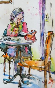 "Nora MacPhail - Artist....""Can't Put it Down..""."