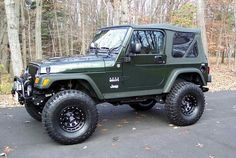 Lifted. Jeep