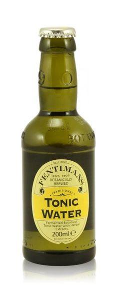 Seit 1775 soll es laut Flaschenaufdruck das Dr. Polidori\'s Dry Tonic ...