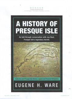 Presque Isle State Park, PA Local author and one of our park volunteers, Gene Ware's new book on Presque Isle history will be available in the Nature Shop in a couple weeks.