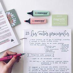 "2,057 Likes, 17 Comments - Bullet Journal & Studygram (@mylittlejournalblog) on Instagram: ""Libreta de resúmenes ✔️. Tema 25 en proceso Ánimo que ya es viernes """