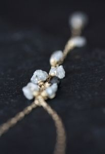 rough diamond necklace - Alexis Russell