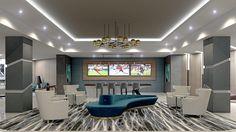 Lobby Seating Area #Allure #AspireApollo #Vidazme #InteriorDesign #InteriorArchitecture #ModernInterior #LobbyDesign #MultiFamily