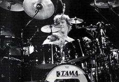 Stewart Copeland. This is how much fun playing the drums can be.