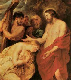 Jesus com os pecadores e humilhados.