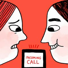#Introverts tend to dislike the phone... at least, we dislike unexpected phone calls. They interrupt our work, reading, train of thought, or nap.
