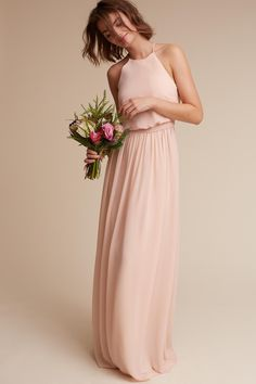 Alana Dress from @BHLDN bridesmaids dress - pale pink shades