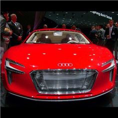 http://chicerman.com  majestix:  Thoughts on the E-Tron? Photo by ?  #majestic_cars #audi #etron #carporn  #cars
