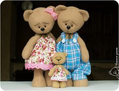 Семейство Мишек / The Teddy Bear Family