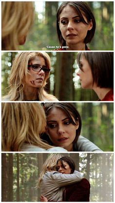"#Arrow 5x23 ""Lian Yu"" - ""Today I got to see the father that he could've been but he'll… He'll never get to be."" - #FelicitySmoak #TheaQueen"