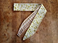 Arrow Stripe Reversible Boho Head Wrap by IvyandCompany on Etsy, $25.00