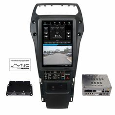 Integrated Control System for 2013-2015 Ford Police Interceptor Utility equipped with SYNC®