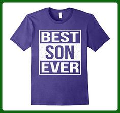 Mens Best Son Ever Shirt  Small Purple - Relatives and family shirts (*Amazon Partner-Link)
