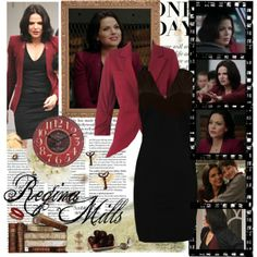 """""""Regina Mills- Of Once Upon A Time"""" by opelazar on Polyvore"""
