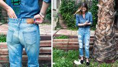 Annina Mislin / J.Crew jeans / Jean Stories
