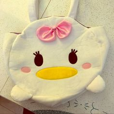 Disney Daisy Tsum Tsum Tote Bag Exclusive from Tokyo Disney Store. Clean no marks, used only a few times. Snap closure. Super Kawaii! Bags Totes