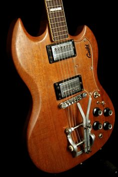 1973 Guild S-100 with Bigsby Palm Pedal