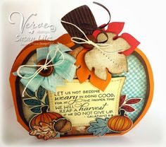 Card by Susan Liles using Verve Stamps.  #vervestamps