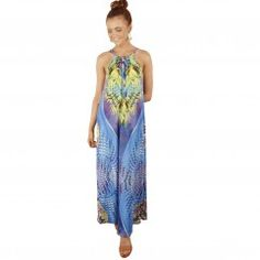 Rio Sunset Maxi Dress - Spicy Sugar