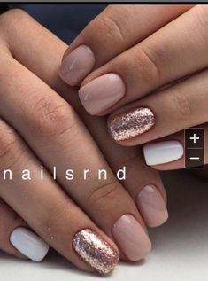 Beauty nails Trendy Nägel rosa Schellack Gold Glitter Beauty Benefits of Hair Straighteners, Fla Rose Gold Nails, White Shellac Nails, Pink Gel Nails, Gold Wedding Nails, Short Nails Shellac, Pink White Nails, Pretty Gel Nails, Rose Gold Gel Polish, Gel Shellac Nails